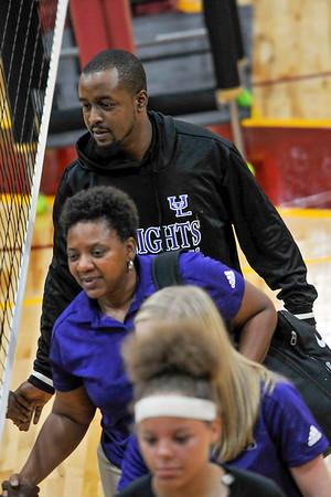September 26, 2019 -  UL Varsity Volleyball  vs  Spalding