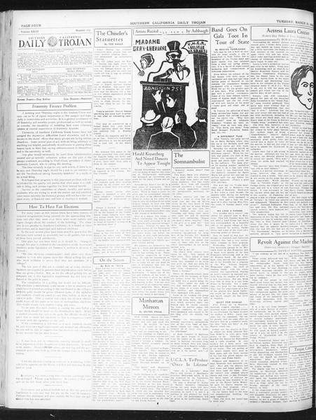 Daily Trojan, Vol. 23, No. 113, March 29, 1932