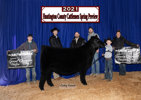 2021 Huntington Co. Cattlemen's Preview Show, IN