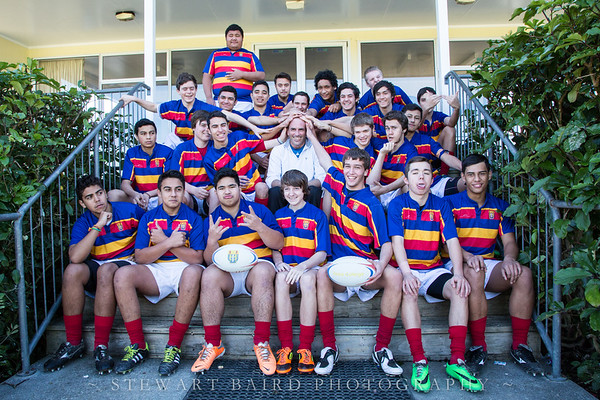 Tawa College 2nd XV Team Photos