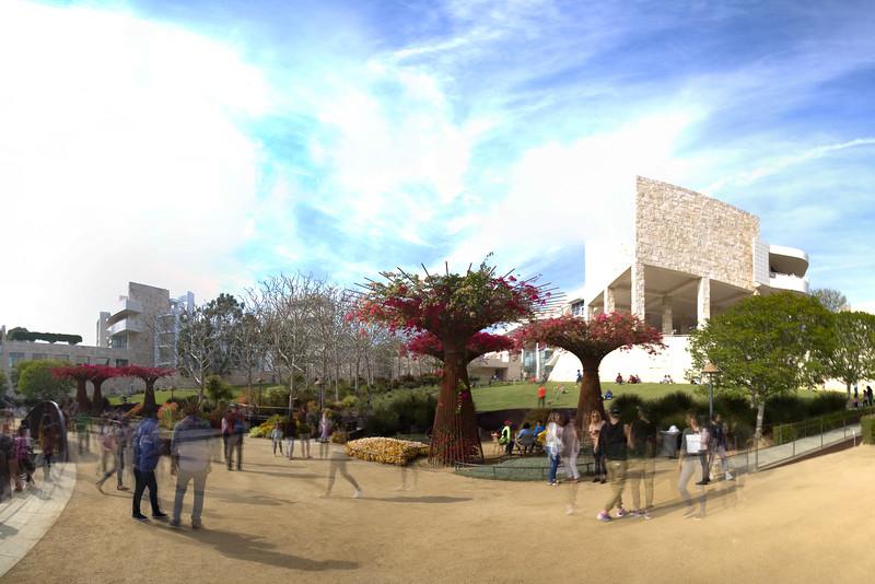 Getty Center, Japanese Garden