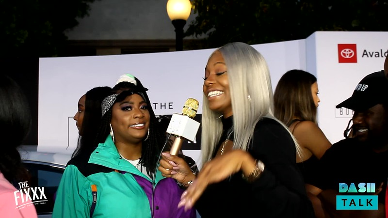 The Fixxx @ Bobby Brown Story Premiere - Kamaiyah.mp4