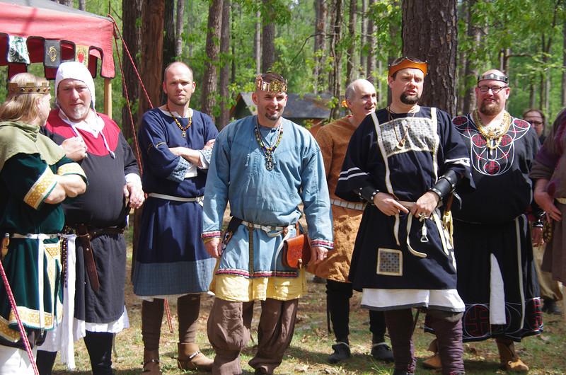 James, Olaf, Camric, Marvin, & Drogo