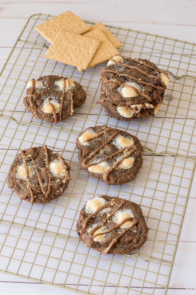 pin these amazing smores cookies