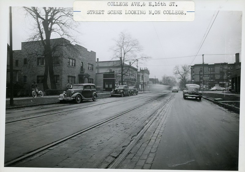 College Avenue and 16th Street 1940s BL