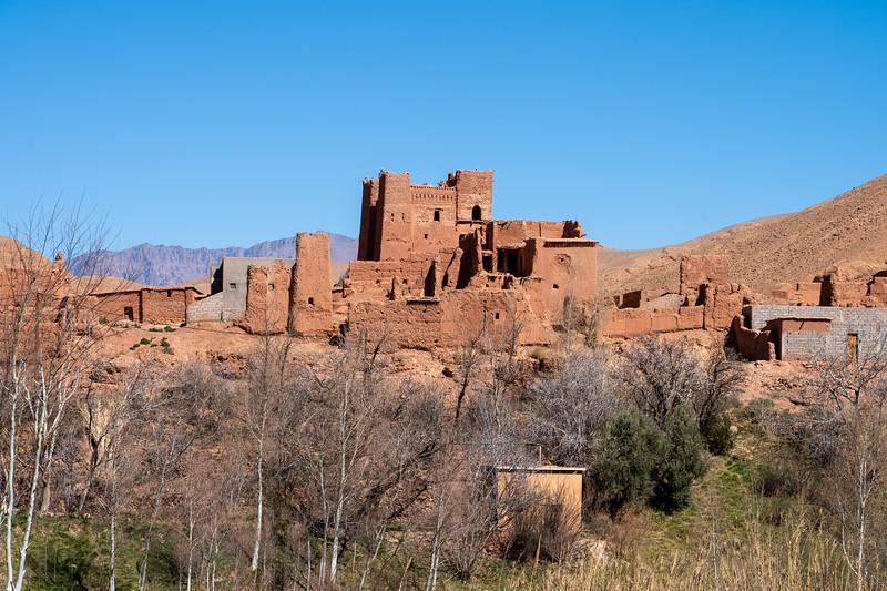 Rose Valley village, Morocco