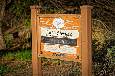 Pueblo Montano Trailhead - May 2, 2019