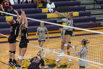 Volleyball vs Tuttle, August 19