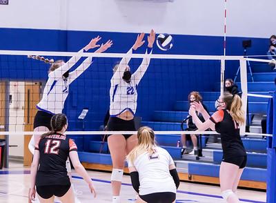 3/18/21 Varsity Volleyball vs Waterloo