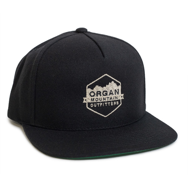 Outdoor Apparel - Organ Mountain Outfitters - Hat - Wool Blend Snapback - Black.jpg