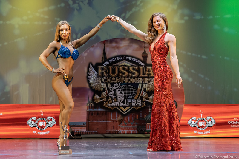 1st Place Overall 185 Путинцева Яна Сергеевна