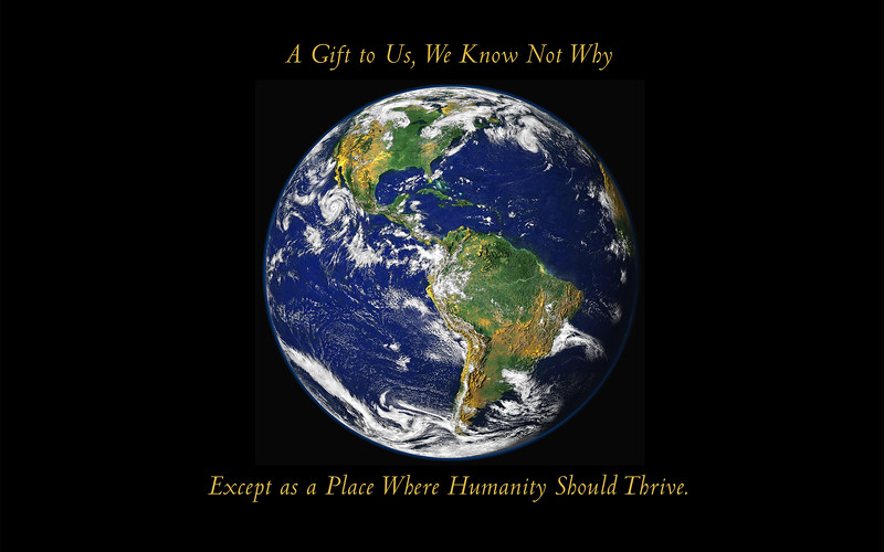 Earth against black two line text 20x20.jpg