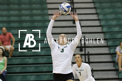 2015 Cal Poly Volleyball vs LMU