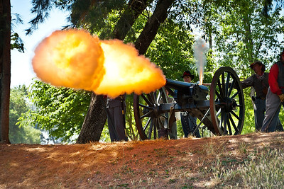 Civil War Re-enactment at Gibson Ranch - 2012