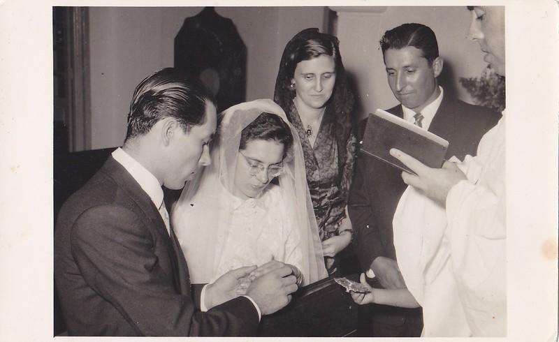 Andrada  - Jaime Silva e Flora Casal Tavares os padrinhos
