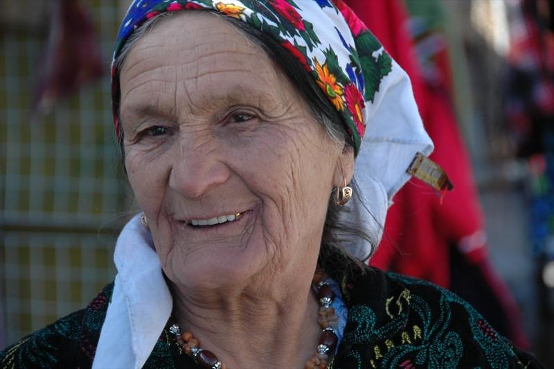 Friendly Smile at Murghab Market - Tajikistan
