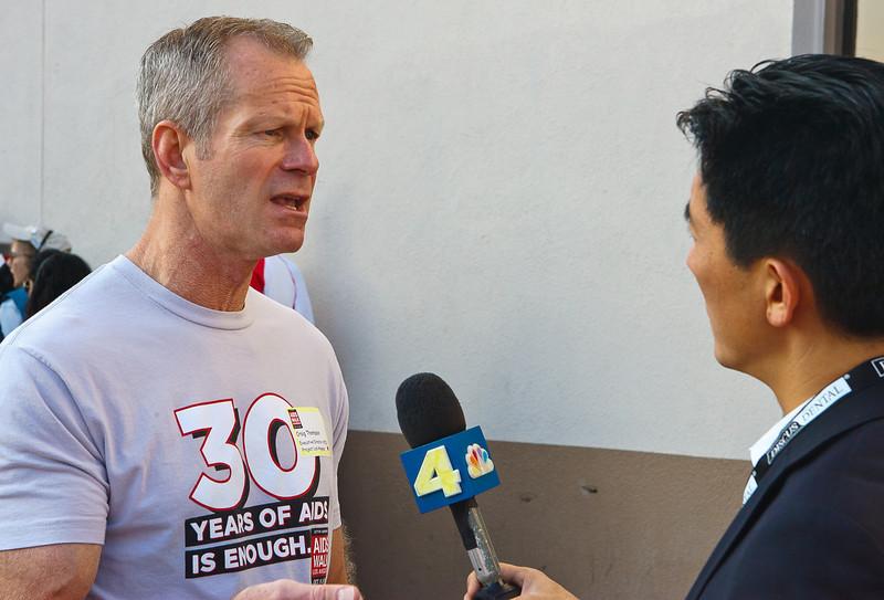 Craig Thompson CEO APLA 27th ANNUAL AIDS WALK LOS ANGELES