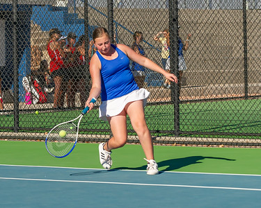 2020-09-01 Dixie HS JV Girls Tennis vs Hurricane