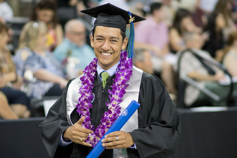 Zach Baltazar. Over 1,100 graduates received their degrees during two commencement ceremonies held on May 13.