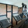 Rebuilt crematoria ovens.