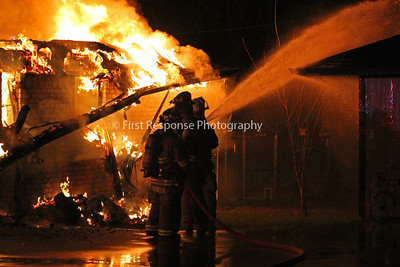 Anna/ Weston, TX. Residential structure fire 12/24/14