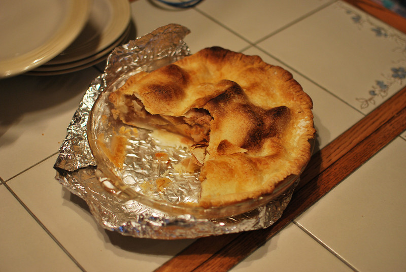 Aunt Kathy's apple pie. She make this for everybody except for Ed.