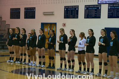 Volleyball Regionals: Stone Bridge vs. Centreville (by Jeff Scudder)