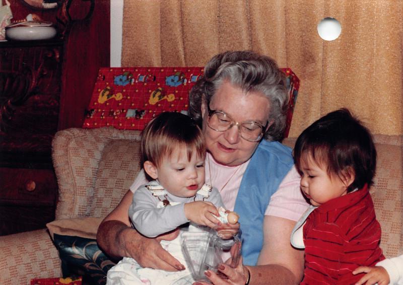 Elizabeth, Frankie, Josh 1985
