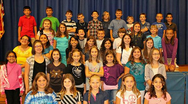 Wilson 5th Grade 2011 - 2012