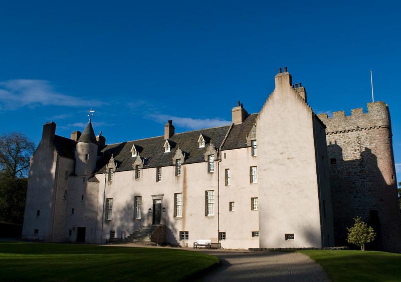 Drum Castle in Aberdeenshire