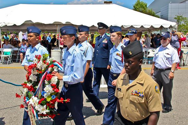 2015 Virginia Beach Memorial Day Service