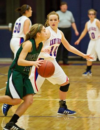 2011-2012 Lady Blues Basketball