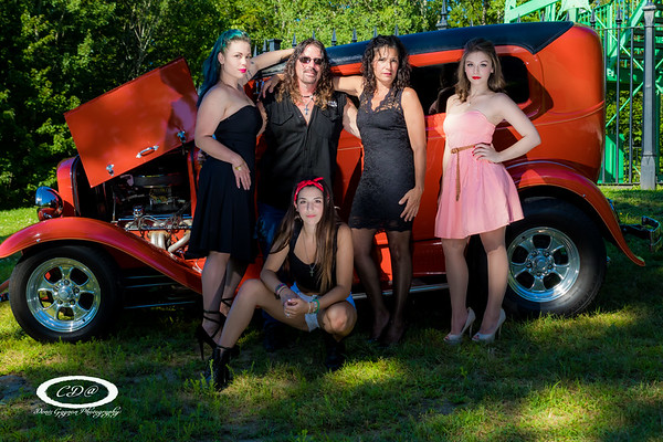 Car shoots with models