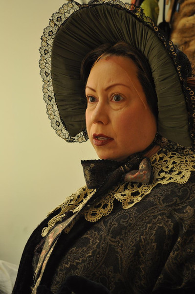 Tom Dugan Plays - Michele Tauber as Mary Lincoln in The Ghosts of Mary Lincoln