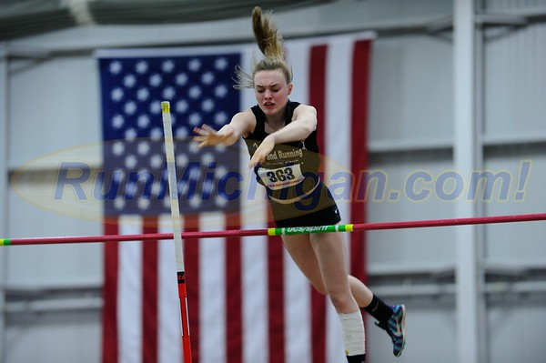 Girls' Pole Vault Gallery 1 - 2017 MITS State Meet Day 1