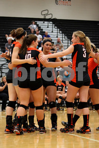 WHS Volleyball vs Oak Hill 9-6-12