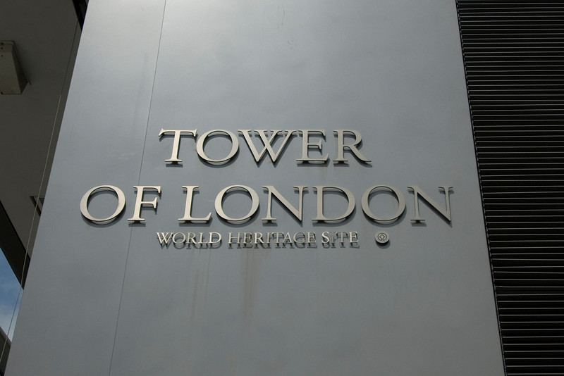 UNESCO sign at the Tower of London - England