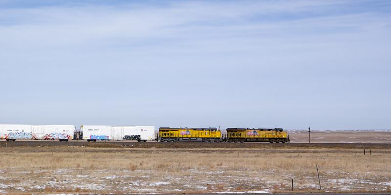 Eastbound BNSF Train