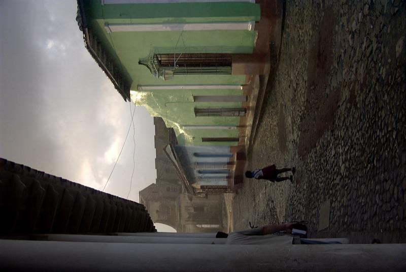 Deserted Street - Trinidad, Cuba