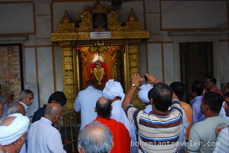 morning worship at Swaminarayan Temple Ahmedabad India (3).jpg