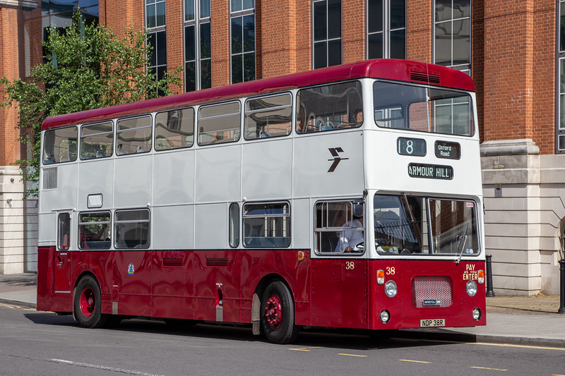 1976 Bristol VRT/LL3 with Northern Counties body