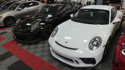 Porsche GT3 Touring and RS Together