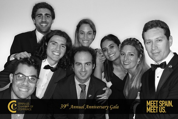 SPAIN-US CHAMBER OF COMMERCE GALA - GLAM BOOTH