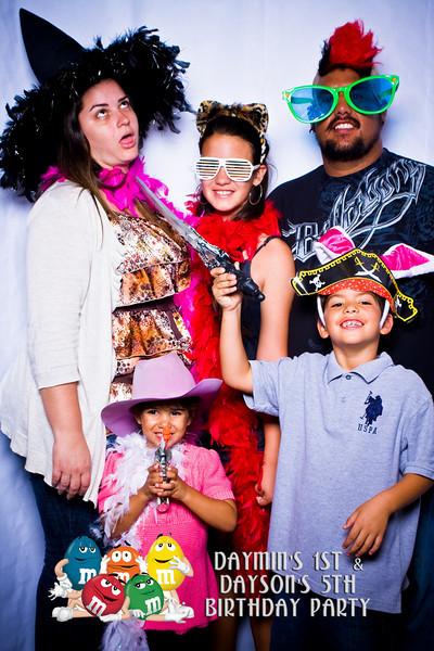 Daymin's 1st Birthday & Dayson's 5th Birthday Party