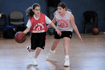 South Windsor Junior Girls Basketball, 2009-02-28