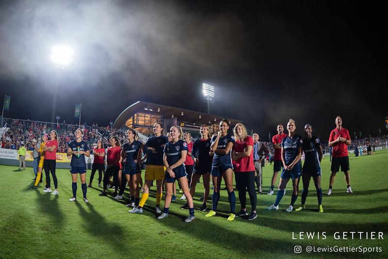NWSL Regular Season Week 22 - NC Courage vs Orlando Pride