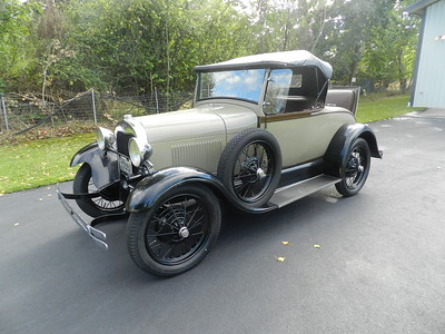 1928 Ford Model A Roadster - For Sale