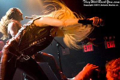 Doro <br> September 9, 2011 <br>  Gramercy Theater - NYC, NY <br> Photos by:  Antonio Marino Jr.