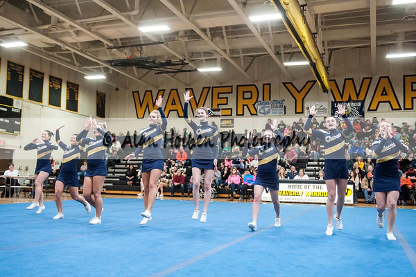 Cheer league meet at Waverly - Owosso
