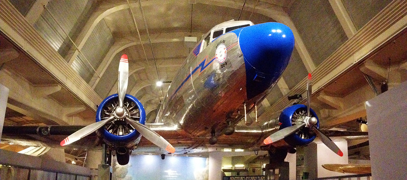 The venerable DC-3.  Greenfield Village, Dearborn, Michigan.